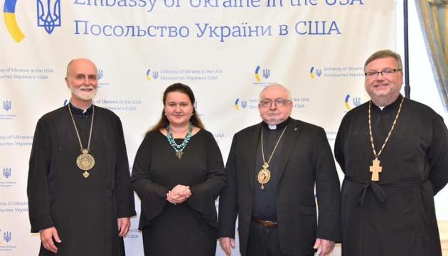 Маркарова зустрілася з духовенством УГКЦ у США