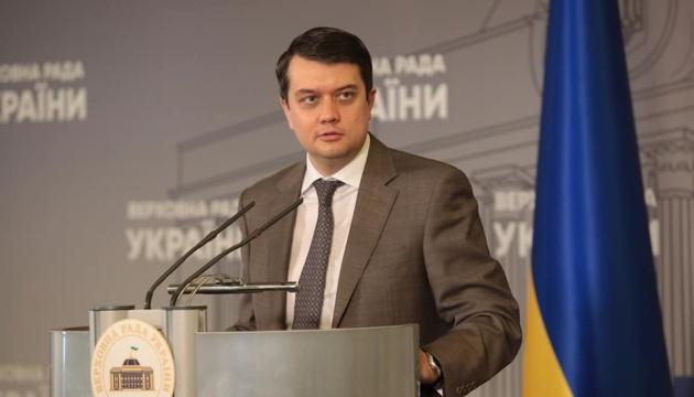 СБУ не надала доказів, чому Аксьонов не може бути депутатом - Разумков