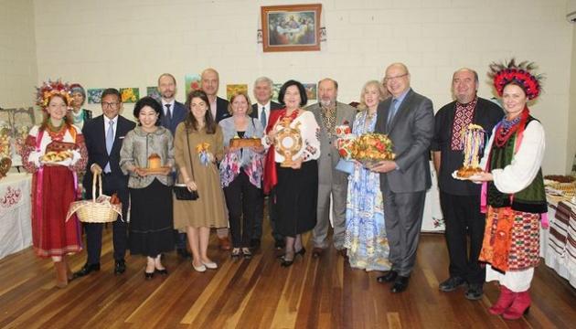 Українська громада долучилася до «Свята хліба» у столиці Австралії