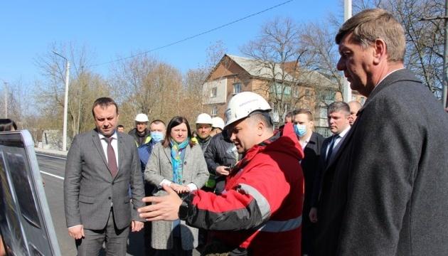 На Вінниччині завдяки «Великому будівництву» вперше за понад 50 років відремонтували  шляхопровід