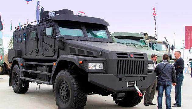 ОБСЕ обнаружила на оккупированной Донетчине современные российские броневики «Есаул»