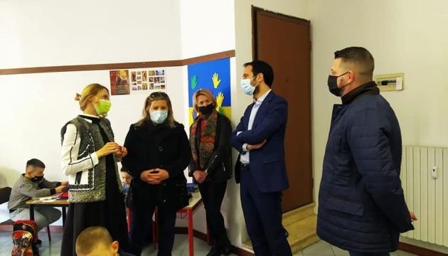 Влада Мілана пообіцяла підтримати місцеву українську громаду та школу