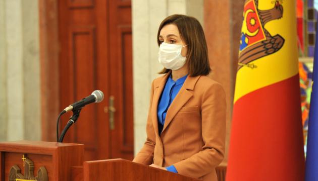 Санду обещает за три месяца вакцинировать от коронавируса всех молдаван