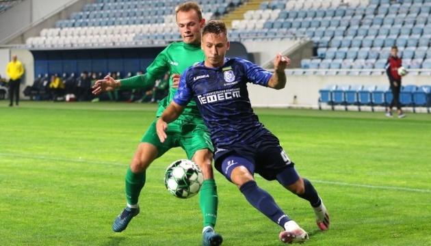 Перша ліга: «Чорноморець» переміг тернопільську «Ниву»