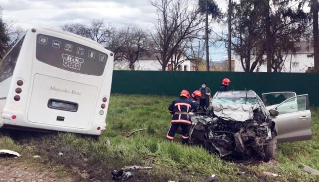 На Прикарпатье произошло смертельное ДТП с автобусом