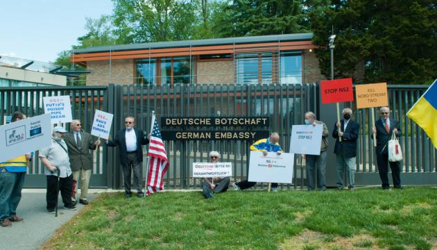 Активісти в США написали листа Меркель - просять зупинити Nord Stream 2