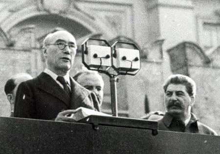 Андре Жід під час візиту до СРСР