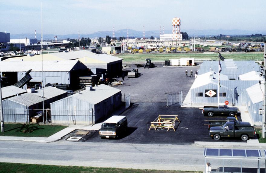 База НАТО в Сігонеллі, о.Сицилія