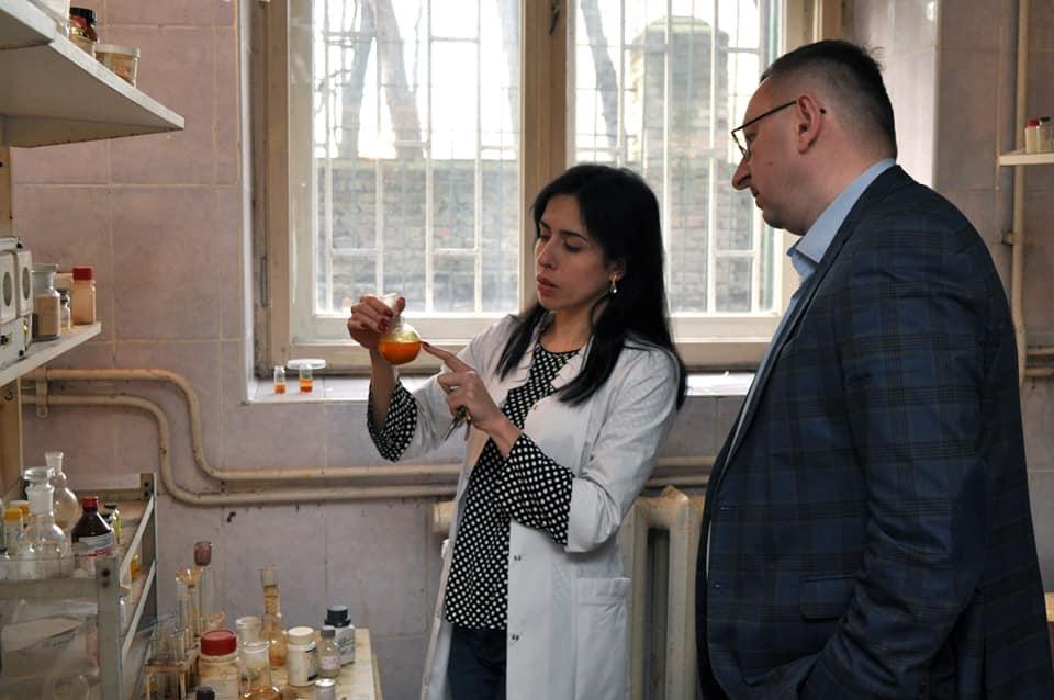 Анна Крищишин та Роман Лесик