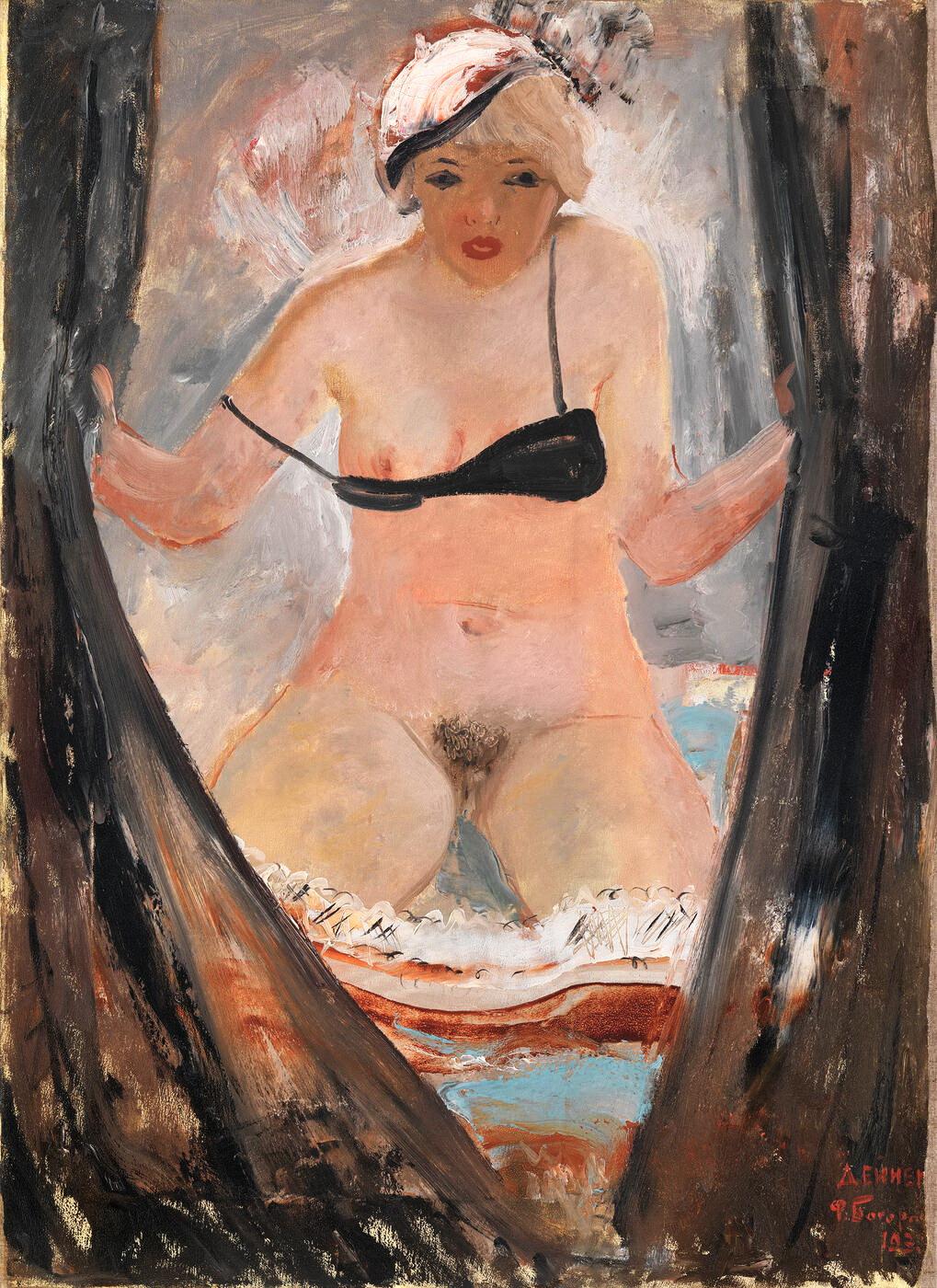 "картина ""За фіранкою"" (1933)"