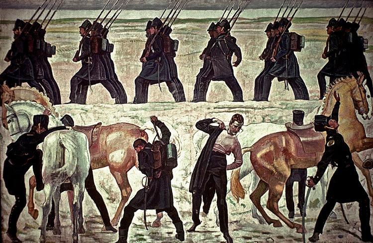 Виступ йєнських студентів на визвольну війну проти Наполеона у 1813 році