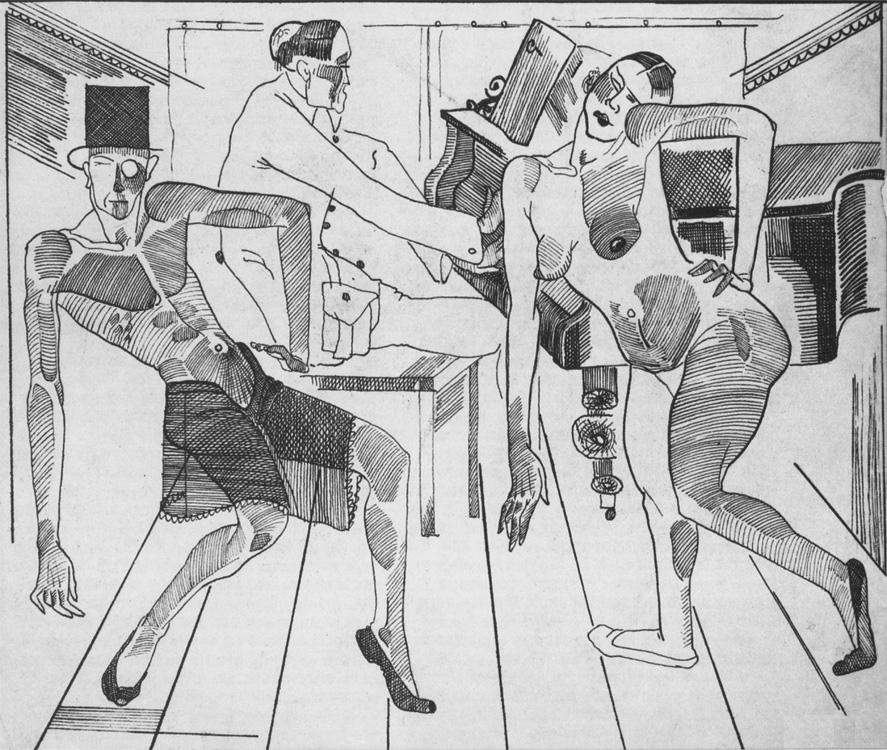 Естрадний танець, 1923 р.