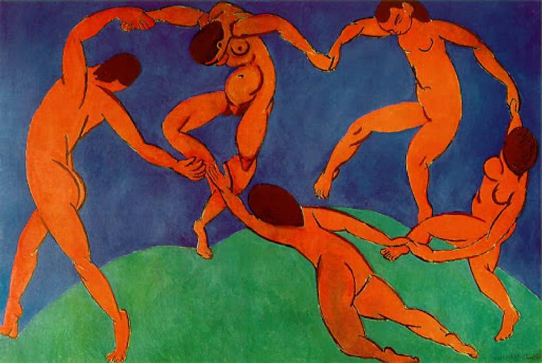 Танець, 1910 р.