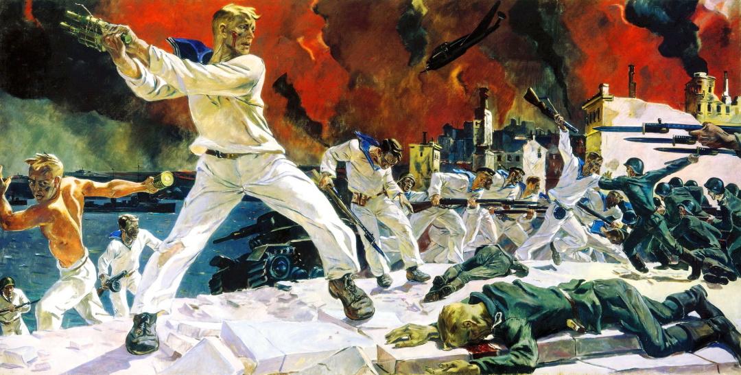 """""""Оборона Севастополя"""" (1942"""