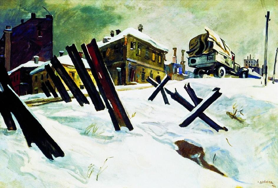 Передмістя Москви. Листопад 1941 року