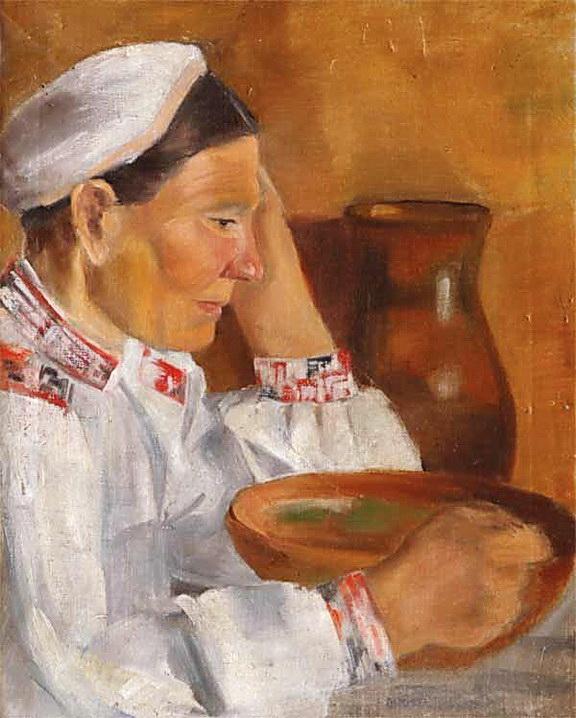 Портрет матері, 1920-ті рр.