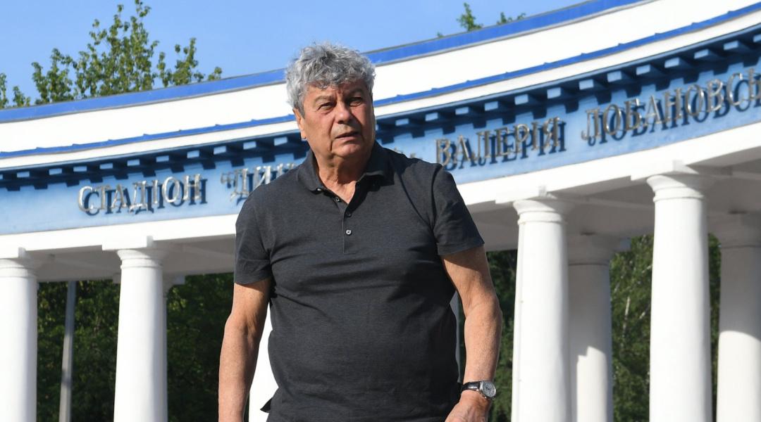 Мірча Луческу на чолі Динамо
