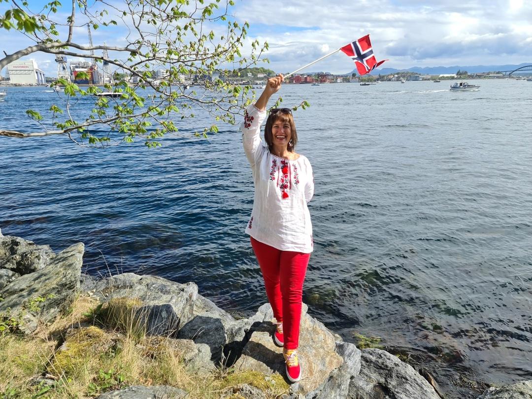 Galyna Gorishnya у Norge, Oslo