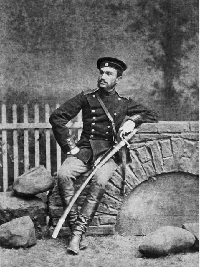 корнет Іван Терещенко, Гродно, 1880 р.