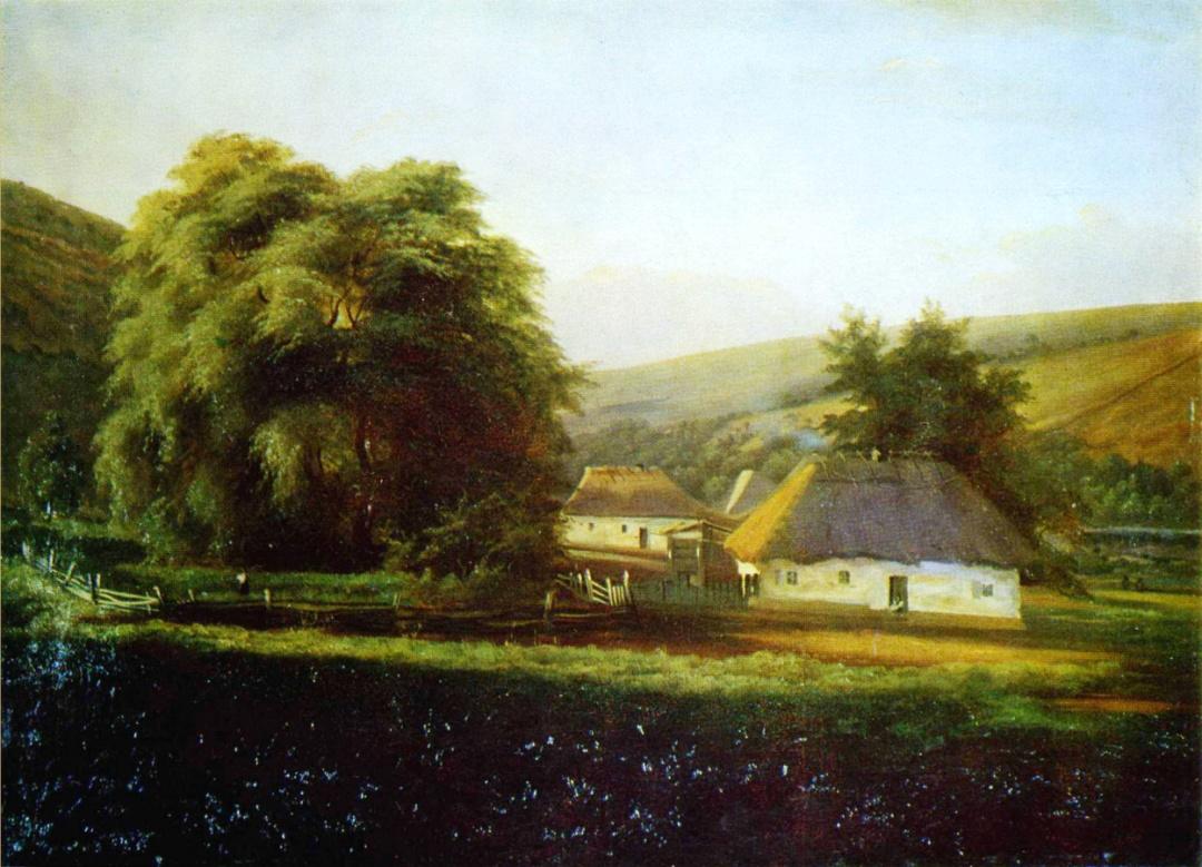 Микола Мурашко, Український пейзаж, 1896 р.