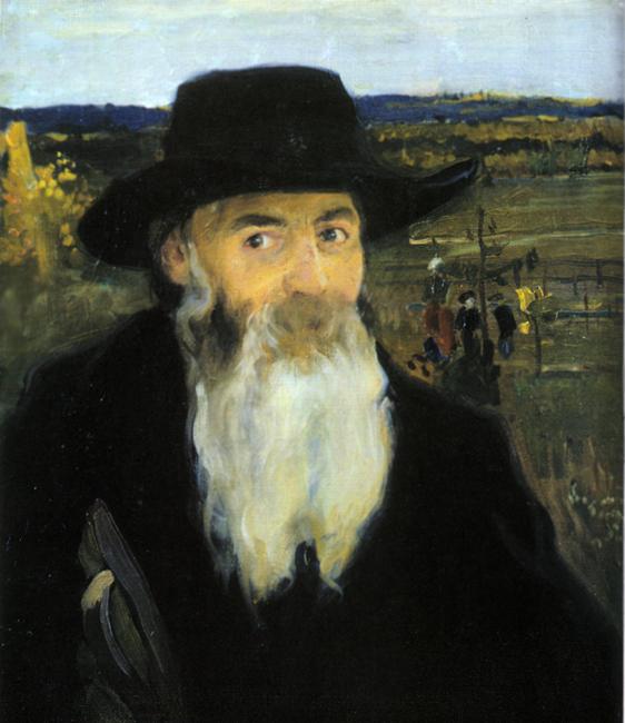 «Старий вчитель». Портрет Миколи Мурашка роботи Олександра Мурашка (1906)