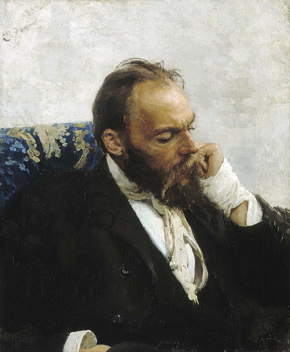 Ілля Репін, портрет художника Миколи Мурашка, 1882 р. АА