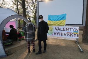 «Кримський вечір» відбувся у «Демократичному таборі «Зупиніть терор Путіна!» в Берліні