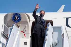 Держсекретар США Блінкен прибув в Україну