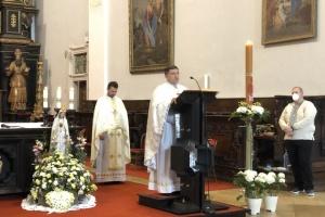 Великодню літургію у словацькому місті Трнава провели українською мовою