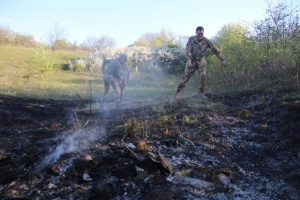 Окупанти випустили керовану ракету поблизу Попасної, сталася пожежа