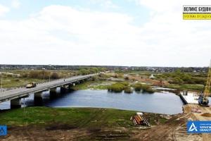 На Чернігівщині споруджують переправу через річку Снов