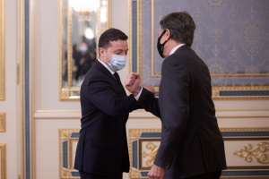 Зеленский и Блинкен проводят совместную пресс-конференцию