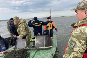 На Одещині знайшли тіло прикордонника з перекинутого човна