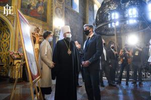 Епифаний и Блинкен обсудили притеснения верующих на оккупированных РФ территориях