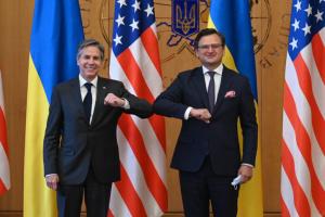 Kuleba und Blinken erörtern strategische Partnerschaft zwischen Ukraine und USA im Sicherheitsbereich