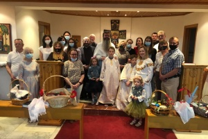 Діаспора на Кіпрі відвідала Великодню літургію українською мовою
