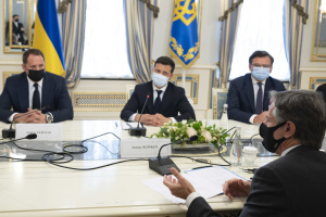 Україна і США бачать спільні інтереси щодо безпеки в Чорноморському регіоні - Зеленський