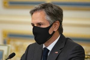 Jednakowe cele przyświecają skorumpowanym siłom na Ukrainie i rosyjskiej agresji - Blinken