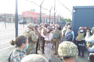 Les ministres des Affaires étrangères du Benelux se sont rendus dans le Donbass