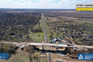 На об'їзній Прилук завершують будівництво мосту