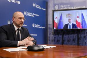 Шмыгаль обсудил с премьером Грузии внедрение стандартов НАТО и противодействие коронавирусу