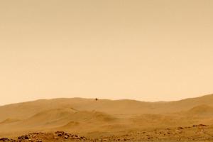 Гелікоптер NASA Ingenuity здійснив п'ятий політ на Марсі