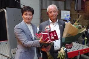 """У Нідерландах керівник фундації """"Голландія-Україна"""" отримав високу державну нагороду України"""