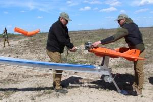 На Рівненському полігоні випробували імітатор, що навчає знищувати ворожі безпілотники