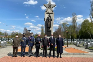 У Празі вшанували пам'ять бійців Українських фронтів Другої світової