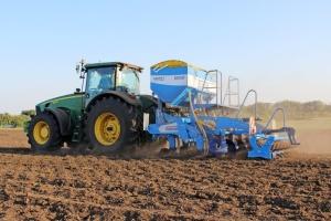 В Україні посіяли майже 4,4 мільйона гектарів ярих зернових