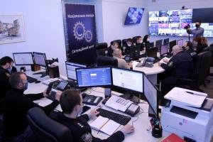 Порядок на 9 травня забезпечують оперативні штаби МВС, мобільні резерви та авіація