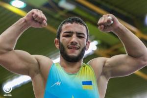 Українець Насібов здобув олімпійську ліцензію в греко-римській боротьбі