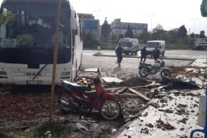 У Туреччині піщана буря закрила сонце і викликала паніку