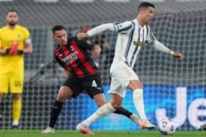 Серия А: «Милан» громит «Ювентус» и поднимается на 3-е место